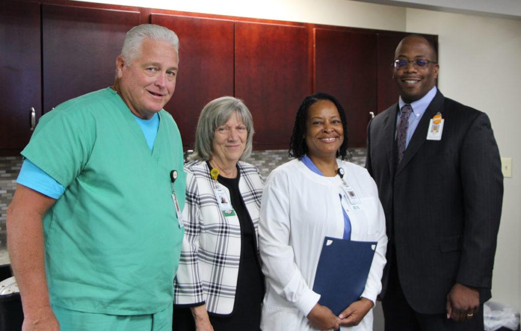 sgmc nurse named hospital hero