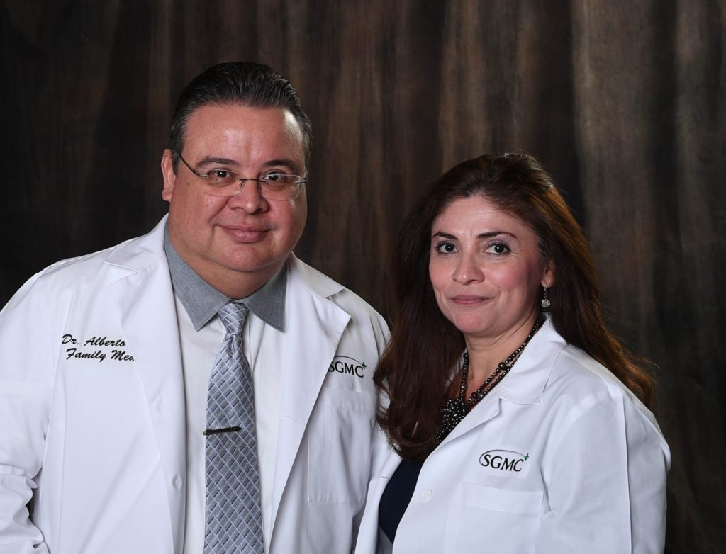Dr. Alberto Garcia and Dr. Vera Garcia